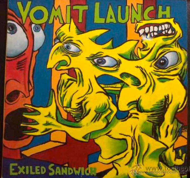 "VOMIT LAUNCH ""Exiled sandwich"" LP"