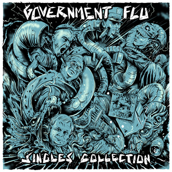 "GOVERNMENT FLU ""Singles collection"" 12""  (black)"