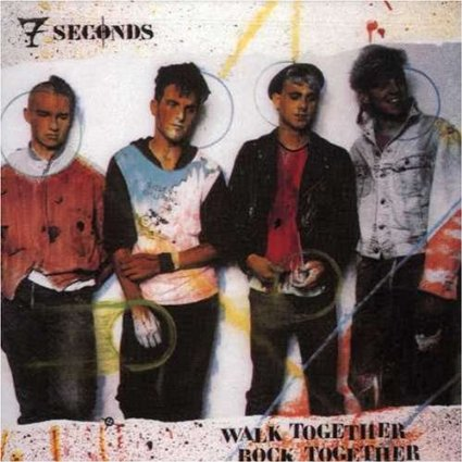 "7 SECONDS ""Walk together rock together"" LP"