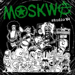 "MOSKWA ""Studio '84""  (3rd press, black vinyl)"