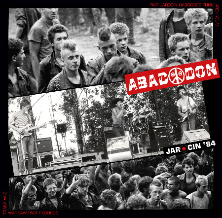 "ABADDON ""Jarocin '84"" 12""  (2nd press, black)"