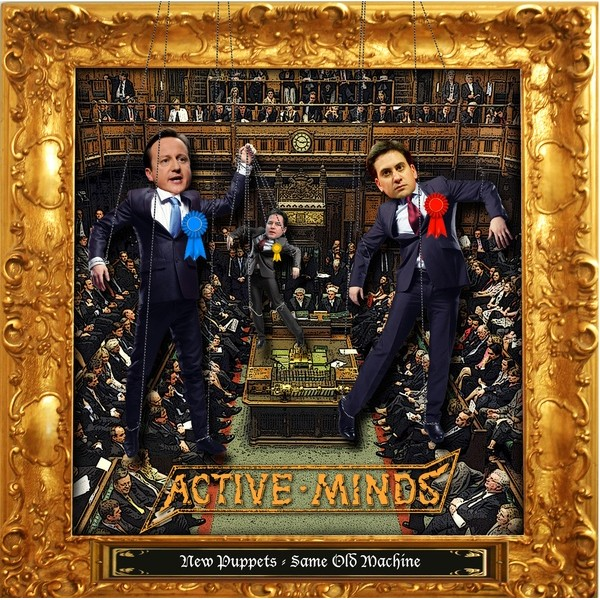 "ACTIVE MINDS ""New puppets = same old machine\"" EP"