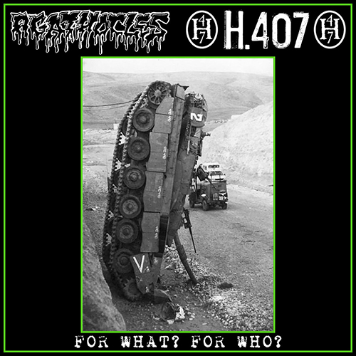 "AGATHOCLES/H.407 ""For what? For who?"" LP  (green)"