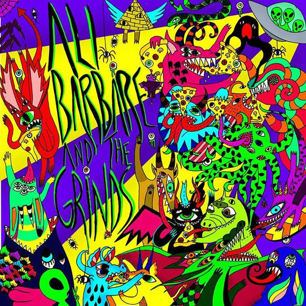 ALI BARBARE AND THE GRINDS s/t MLP