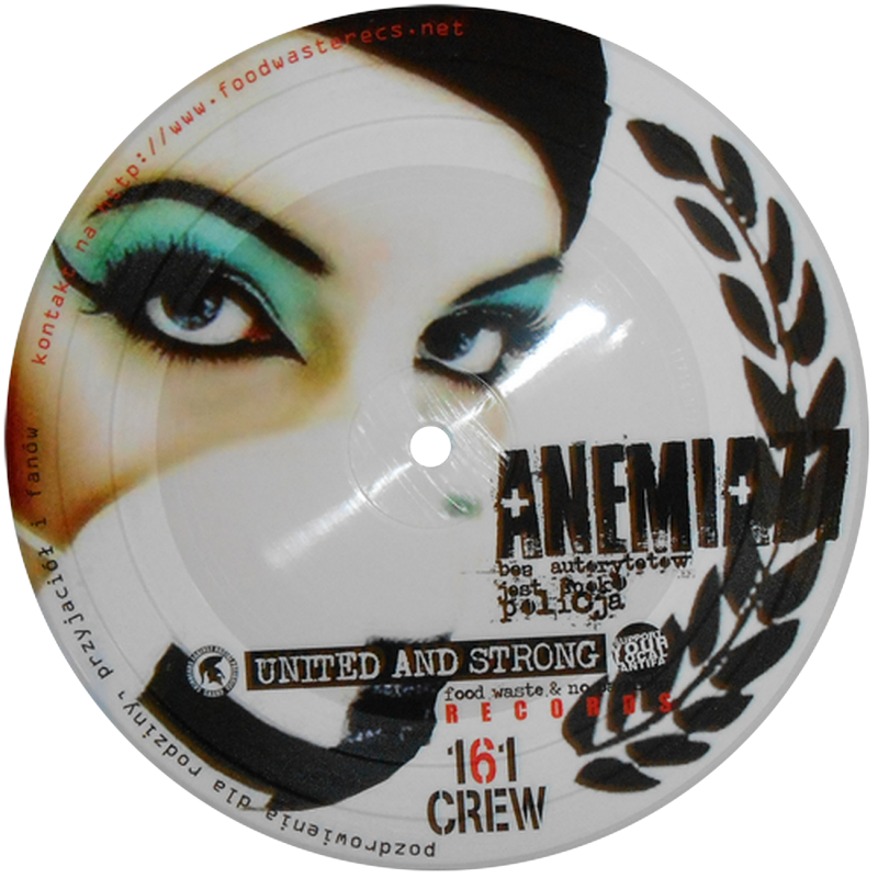 ANEMIA 77/NOIZY BOYS  split EP picture disc