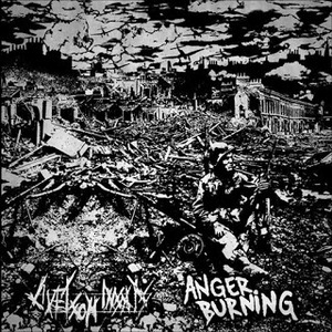 ANGER BURNING/LIVET SOM INSATS  split EP