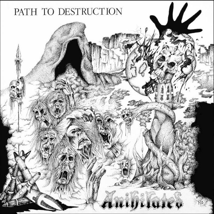 "ANIHILATED ""Path of destruction"" 12"""