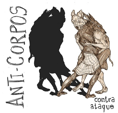 "ANTI-CORPOS ""Contra ataque"" EP (ltd. white)"