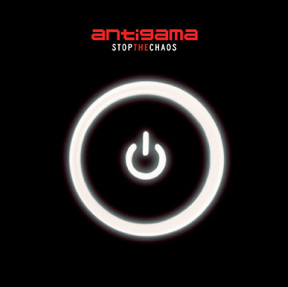 "ANTIGAMA ""Stop the chaos"" LP  (white)"