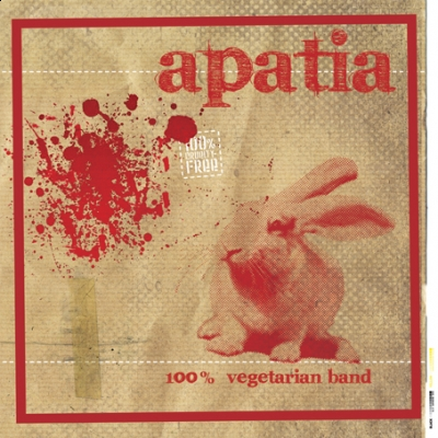 "APATIA ""100% vegetarian band"" LP"
