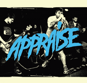 "APPRAISE ""Appraise"" EP (2nd press, black)"