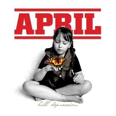 "APRIL ""Kill Depression"" LP  (red)"