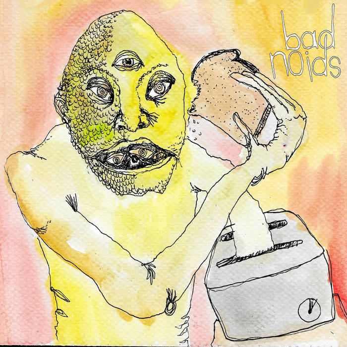 "BAD NOIDS ""Doggie bag world"" EP"