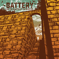 "BATTERY ""For the rejected by the rejected"" LP  (blue)"