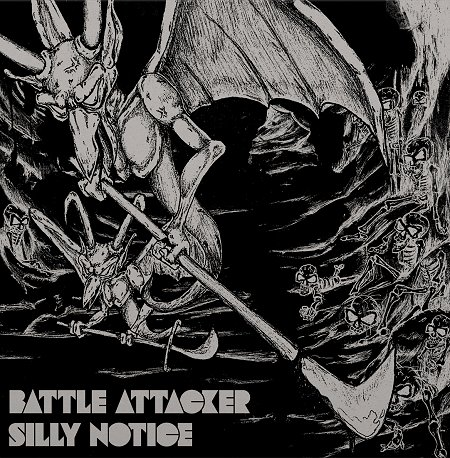 "BATTLE ATTACKER ""Silly notice"" LP"