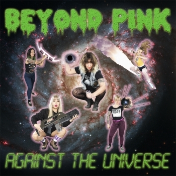 "BEYOND PINK ""Against the universe"" LP  (red)"