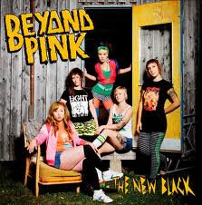 "BEYOND PINK ""The new black"" 12"" (1st press, green)"
