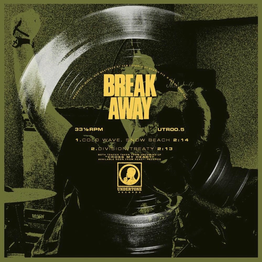 "BREAK AWAY ""Cold wave, snow beach"" 7""flexi EP"