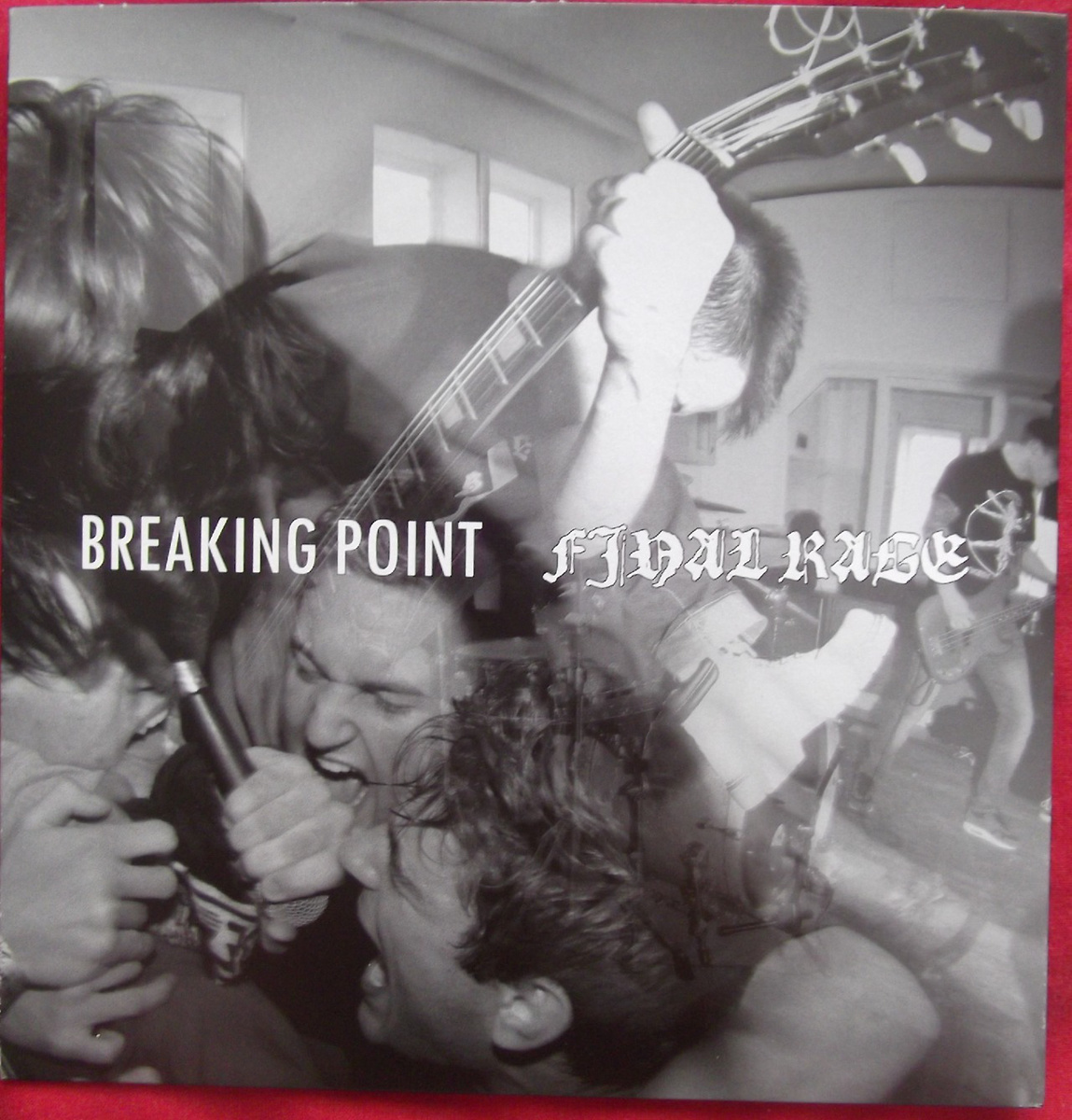 BREAKING POINT/FINAL RAGE split  EP