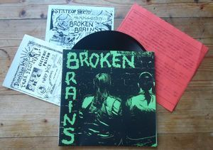 "BROKEN BRAINS ""Broken Brains"" EP"