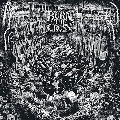 BURN THE CROSS/CHORYGEN split LP