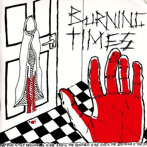 "BURNING TIMES ""The end is the beginning""  EP"