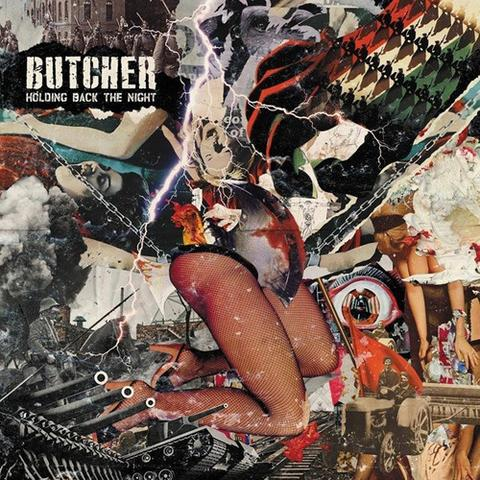"BUTCHER ""Holding back the night\"" LP"