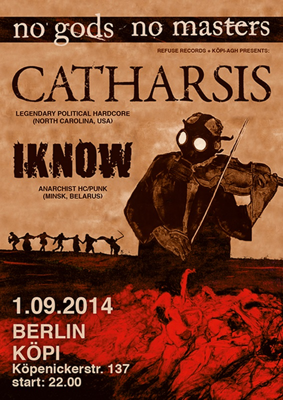 CATHARSIS/I KNOW 2014 poster