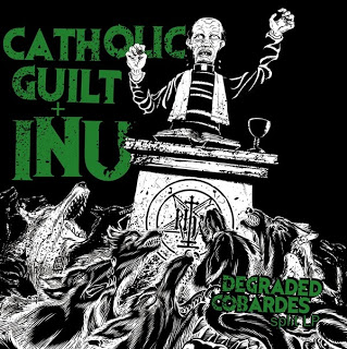 "CATHOLIC GUILT/INU ""Degraded cobardes"" LP"