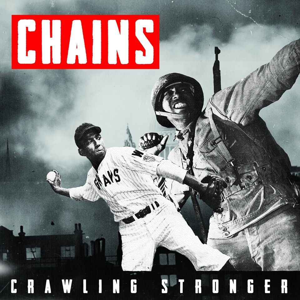 "CHAINS ""Crawling stronger"" LP"