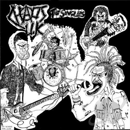 "CHAOS U.K. ""Total chaos - the singles"" LP"