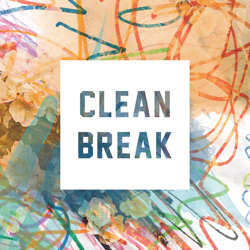 "CLEAN BREAK ""Clean Break"" EP  (black)"