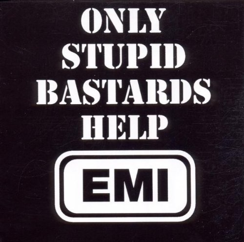 "CONFLICT ""Only stupid bastards help EMI"" CD"