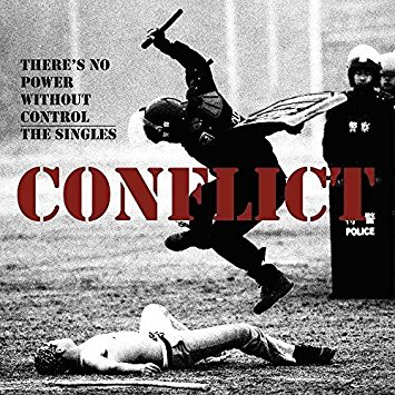 "CONFLICT ""There's no power without control - the singles"" 2xLP"