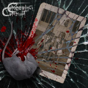 CREEPING CORRUPT/HELLISHEAVEN  split LP