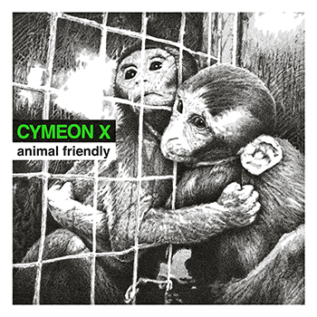 "CYMEON X ""Animal friendly"" 12"" green vinyl"