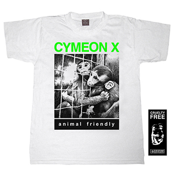 "CYMEON X ""Animal friendly"" t-shirt  S"