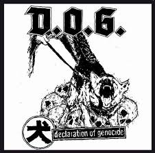 "D.O.G. ""Declaration of genocide"" EP"