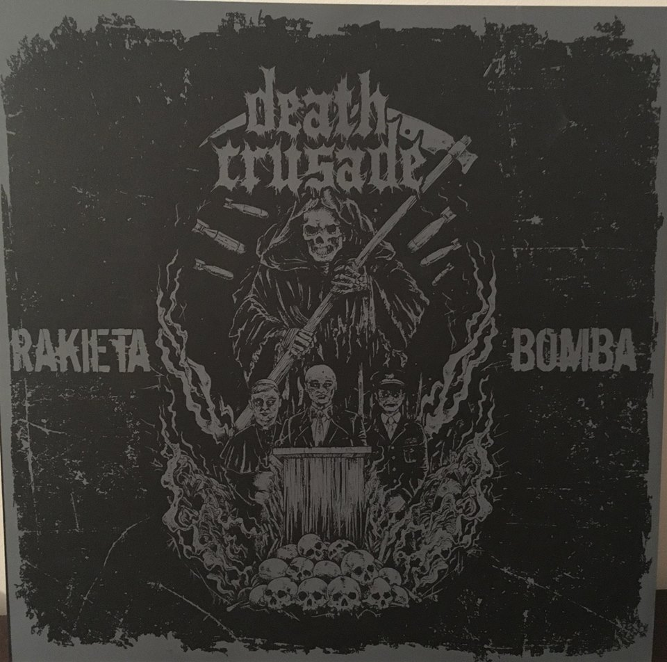 "DEATH CRUSADE ""Rakieta//bomba"" LP"