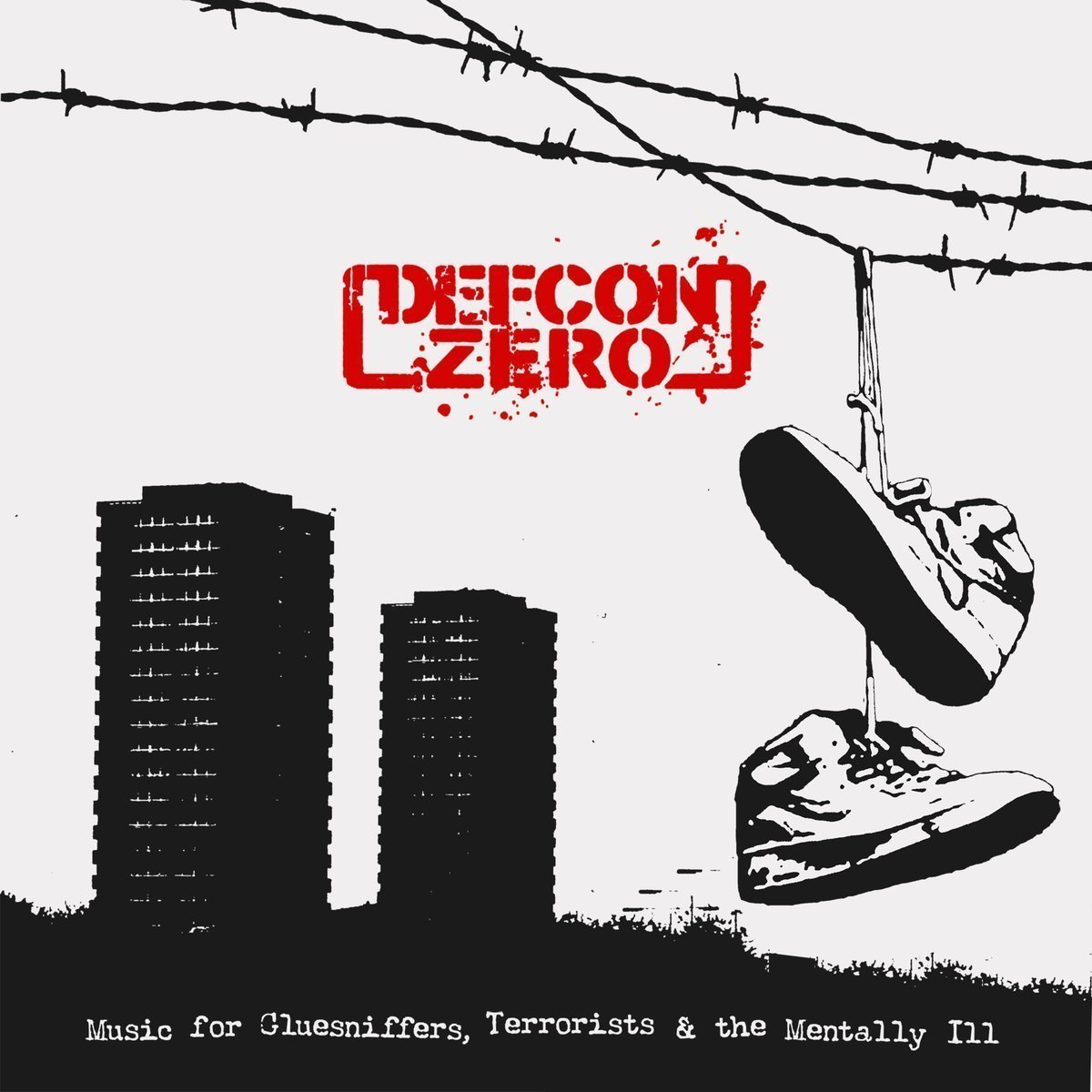 "DEFCON ZERO ""Music for gluesniffers..."" LP"
