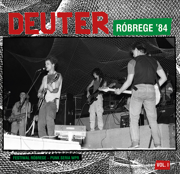 "DEUTER ""Róbrege '84"" LP  (ltd. red)  PRE-ORDER"