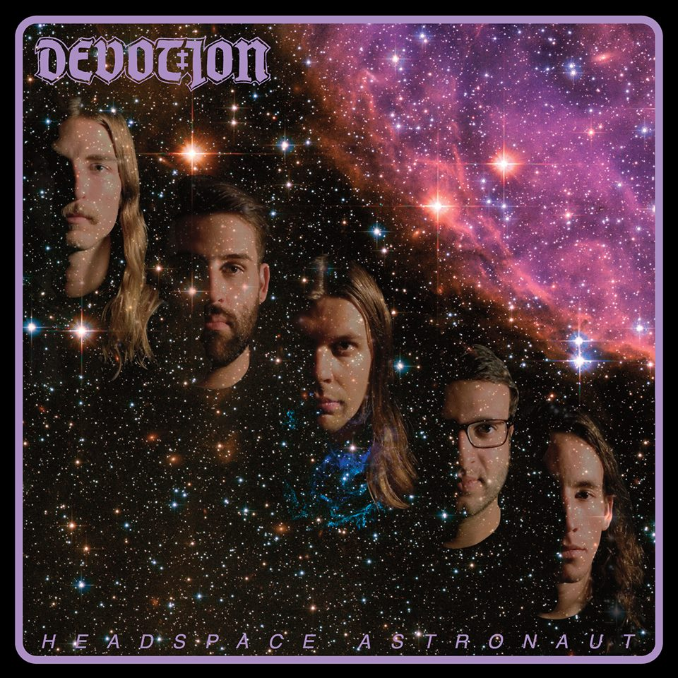 "DEVOTION ""Headspace astronaut""LP  (black)"