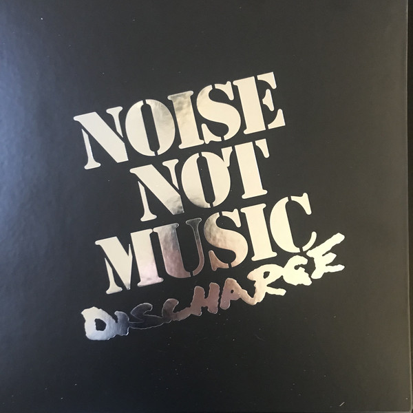 "DISCHARGE ""Noise not music"" 3xLP+EP box set"