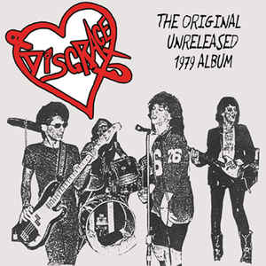 "DISGRACE ""The original unreleased 1979 album"" CD"