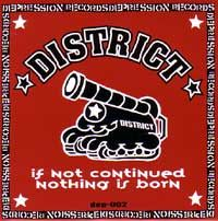 "DISTRICT  ""If not continued nothing is born"" EP"