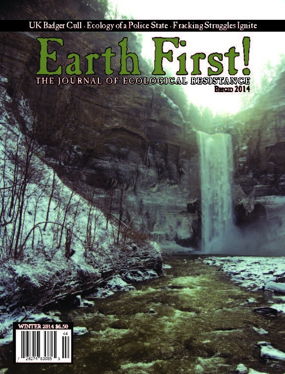 """EARTH FIRST!\"" Brigid 2014"