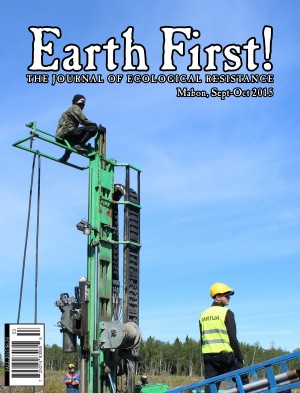 """EARTH FIRST!\"" Fall 2015"