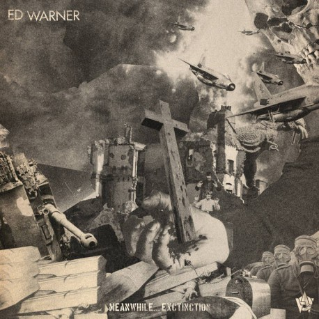 "ED WARNER ""Meanwhile... extinction"" LP"