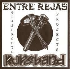 "ENTRE REJAS/RUPS BAND ""Grassroots projects""  EP"