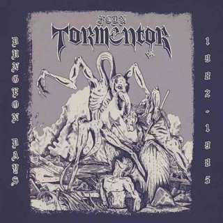 "F.C.D.N. TORMENTOR ""Dungeon days 1982-1985"" LP+CD"